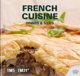 French Cuisine Dinner and Sides